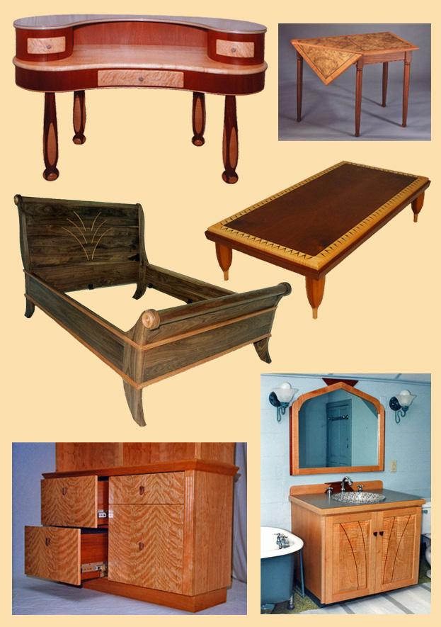 Essence Woodworks and Crimson Asphalt :: Furniture by