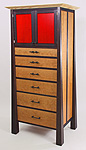 The Crimson Doors Dresser