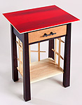 The Crimson Side Table