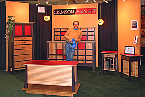 Crimson Asphalt and Essence Woodworks Awarded Best in Show, Body of Work in Contemporary Furniture at Providence Fine Furnishings Show 2007
