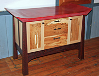 The Crimson Sideboard