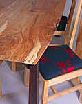 The Crimson Table And Chair